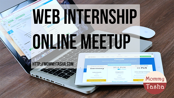 web internship online meet up