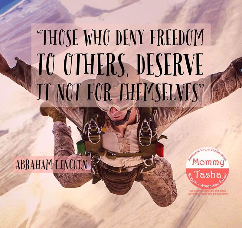 freedom for others
