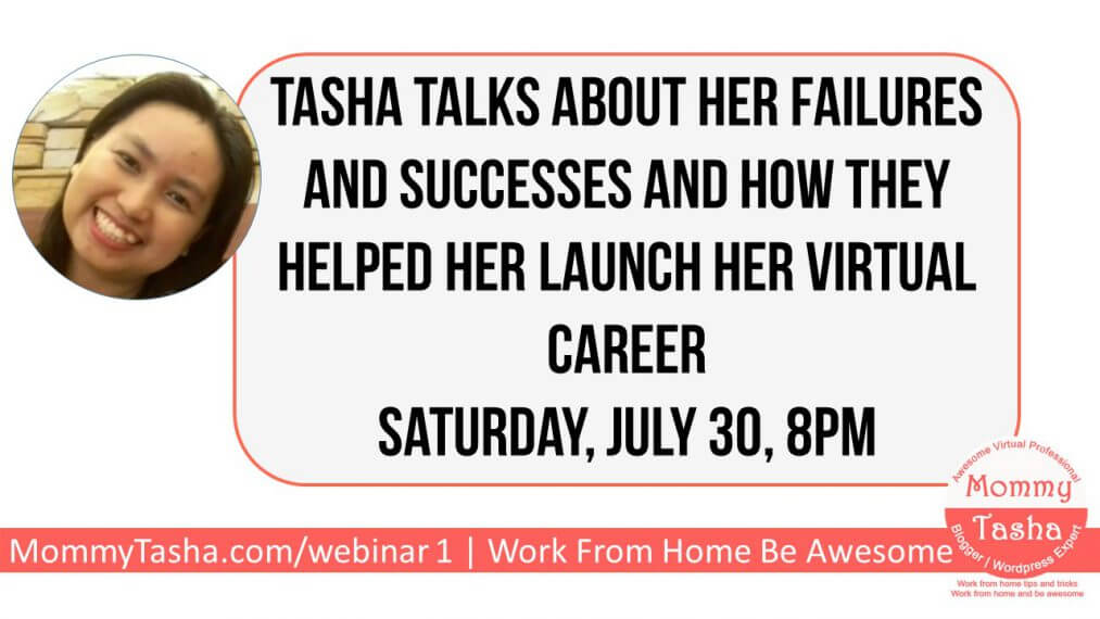 Mommy Tasha's First Webinar